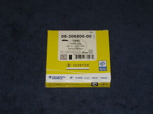 1x Kolbenringe Goetze Opel C20LET C20NE C20XE 20SEH X30XE beschichtet Turbofest