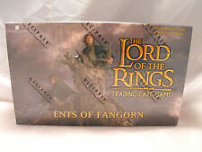 LORD OF THE RINGS TCG ENTS OF FANGORN COMPLETE SEALED BOX OF 36 PACKS