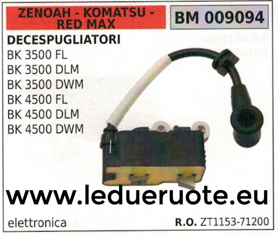 ZT115371200 ZT115371200 ZT115371200 SPULE FREISCHNEIDER ZENOAH-KOMATSU rot MAX BK 4500 FL DLM DWM 37f0cd