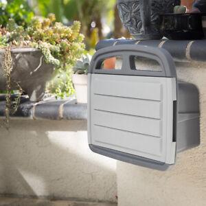 150-039-ft-water-Hose-Reel-amp-Storage-Cabinet-Box-Wall-Mount-Holder-Hanger-Garden
