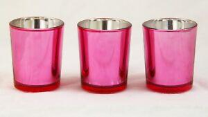 150 Rose Pink Tealight Candle Holder