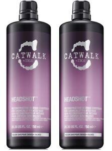 Catwalk-by-TIGI-Headshot-Reconstructive-Intense-Conditioner-2X-750ml-Bottles