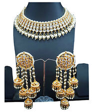 Polki kundan bridal Indian bridal Necklace earring Set bollywood wedding jewelry