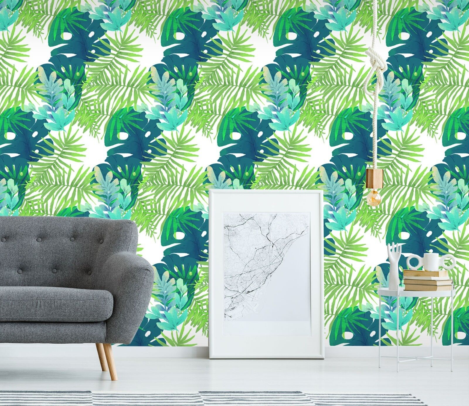 3D WaterFarbe Leaf 33 Wallpaper Mural Print Wall Indoor Wallpaper Murals UK