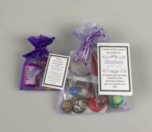 Mother of the Groom Survival Kit unusual Wedding Favour Thank You keepsake Gift