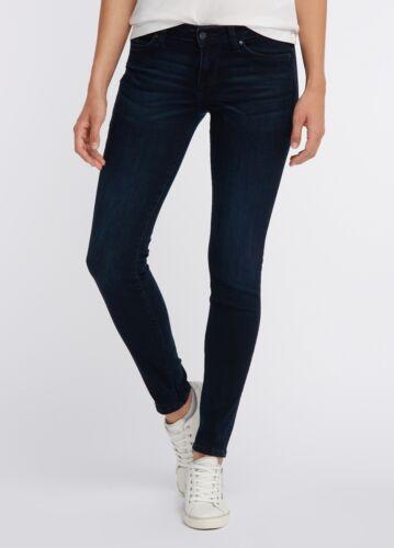 Medium Rise rinsed washed be flexible Mustang Jasmin Jeggins Damen Jeans