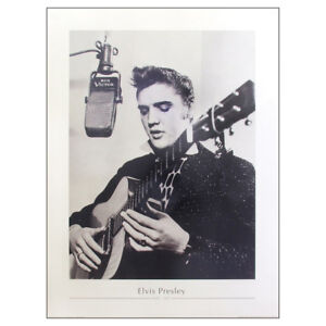 Image Is Loading Elvis Presley Poster Print Large Quality Recording Studio