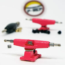 P-REP Spaced 32mm Chrucks™ - Wide Trucks for wooden fingerboard - Pink