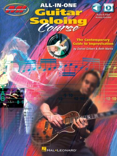 All-in-One Guitar Soloing Course The Contemporary Guide to Improv 000217709