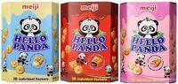 Meiji Family Pack Hello Panda Cream Cookie (chocolate, Strawberry, Milk) - 9.1oz
