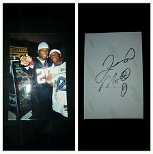 Floyd Mayweather Jr autographed photo with 50 Cent