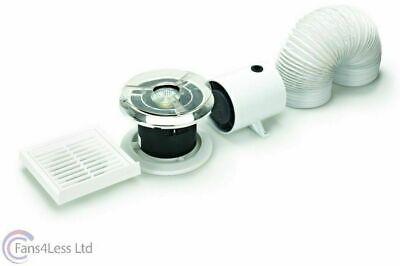 "Manrose inline modèle standard salle de bains extractor fan plug hydroponics 4/"" 5/"" 6/"""