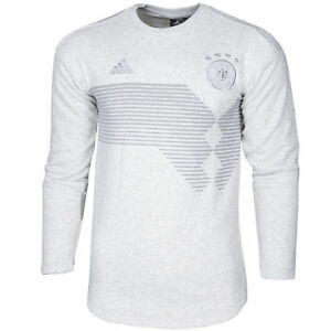 adidas Cotton Germany Seasonal Special Sweatshirt in Grey