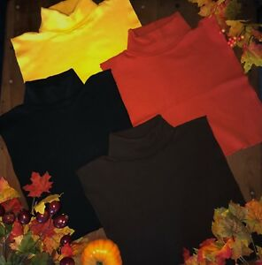 TURTLE NECK DICKIES 4-PACK 100% COTTON MADE IN USA DIRECT FROM MFG FREE SHIPPING
