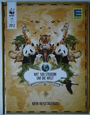 EDEKA Sammel Album Mein Reistagebuch komplett mit 180 Stickern