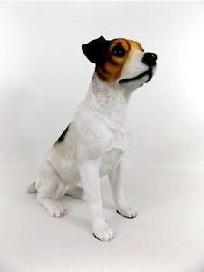 Hund Deko.Details Zu Terrier Jack Russel Hund Deko Garten Tier Figur Skulptur Statue Wildhund