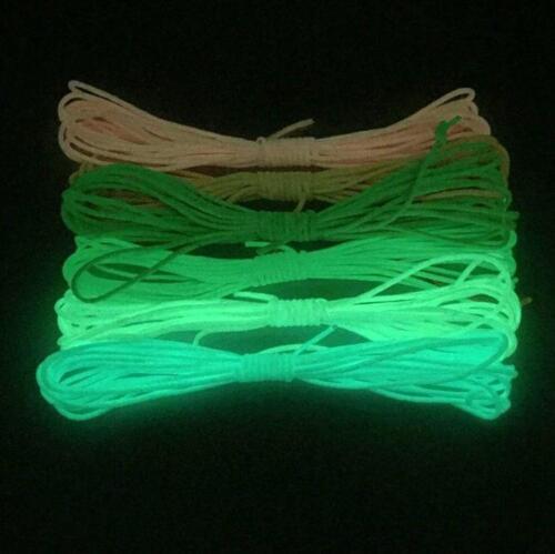 5-30M Fluoreszierendes Paracord 550 farbauswahl Fallschirmleine Fallschirmschnur