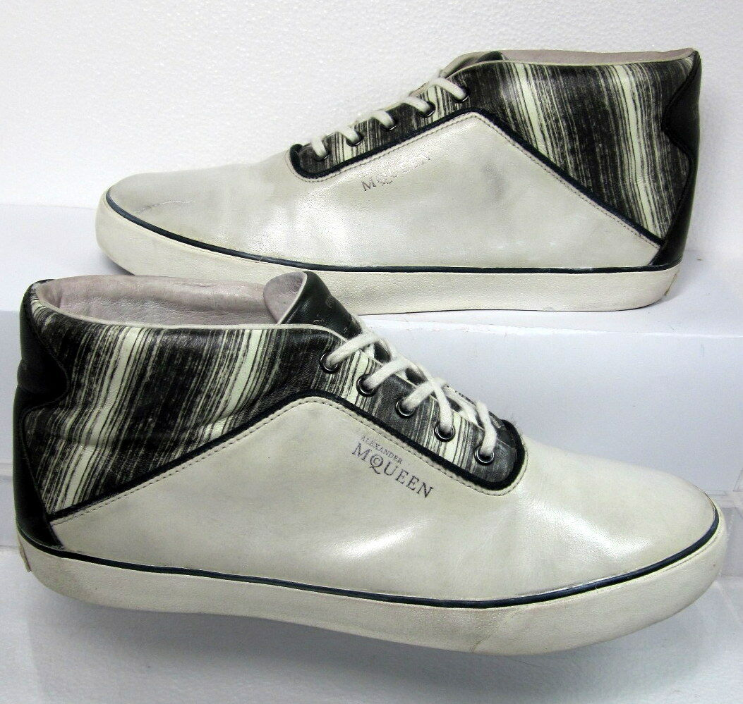 Alexander McQueen for Puma DECK MID II Leather Sneaker US 11 Minimal Wear