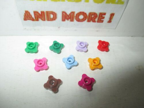 Lego Choose Color /& Quantity Plate Plaque Round 1x1 Fleur Flower Edge 33291