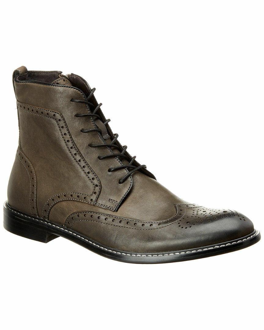 Nuevas botas De Cuero John Varvatos Star Usa En Plomo