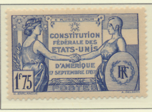 France-Stamp-Scott-332-Mint-Hinged