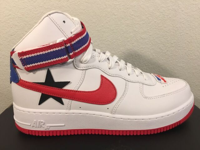 Nike Air Force 1 Hi RT Riccardo Tisci White Red Black Aq3366 100 Size 10
