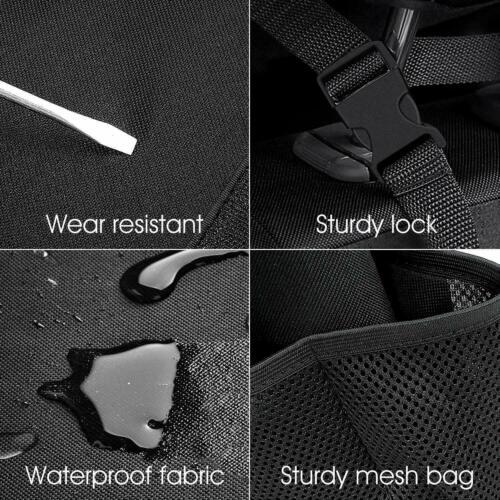 Auto Reise Organizer Kofferraum Rücksitz Tasche Ablage Rücksitztasche mit Netz