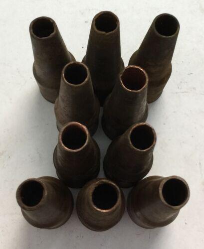 Lot of 10 TWECO MIG Welding Gun Tips 24A-37-SS