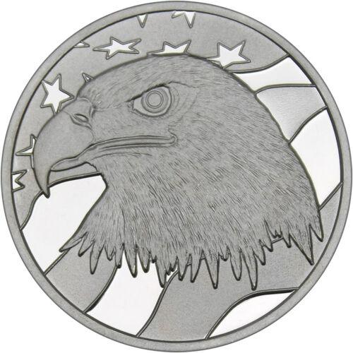 Pledge of Allegiance Eagle 1oz .999 Fine Silver Round by SilverTowne