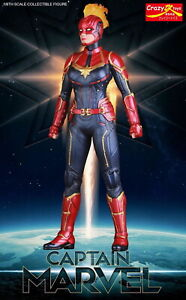 CRAZY-TOYS-1-6-SCALE-CAPTAIN-MARVEL-COLLECTIBLE-FIGURE-MODEL-STATUE-NEW