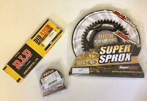 KTM-SX-65-Front-14-amp-Rear-48-Sprocket-DID-420-Chain-1998-2018-Black-Alloy-Ral-4
