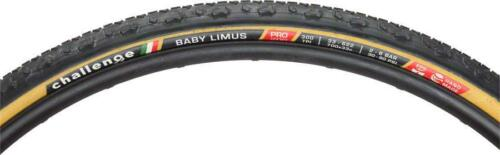 300tpi Challenge Baby Limus Pro Tire: Handmade Clincher 700x33 Black//Tan