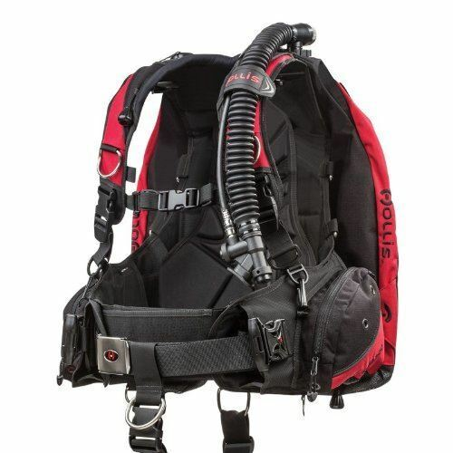 Hollis HD200 BC BCD Weight Integrated Scuba Diving Buoyancy Compensator