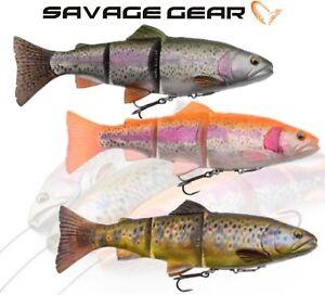 Savage-Gear-4D-Line-Thru-Trout-Swim-Baits-Pike-Lure-Fishing-Predator-Tackle-Chub