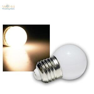 LED-Tropfenlampe-E27-warmweiss-mit-9-SMD-LEDs-Leuchtmittel-Birne-fuer-Lichterkette