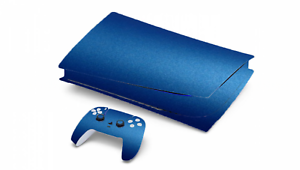 MATTE METALLIC CANDY BLUE SKIN FOR PS5 PLAYSTATION *DISC VERSION*