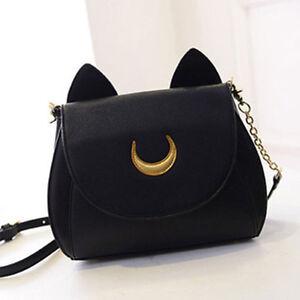 Black-Sailor-Moon-Messenger-Bag-Samantha-Vega-Luna-Shoulder-Women-PU-Leather-Bag