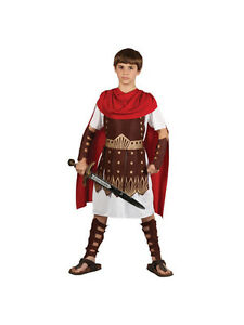5ba3e297eac5e ... CENTURION-Romain-enfant-GLADIATEUR-Armee-Soldat-Costume-Robe-