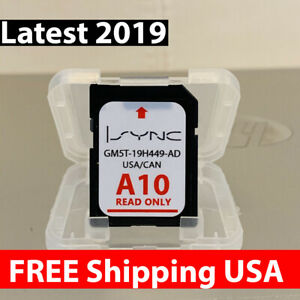LATEST-A10-NEW-2019-GPS-Navigation-SD-CARD-SYNC-FITS-ALL-FORD-UPDATES-A9-A8