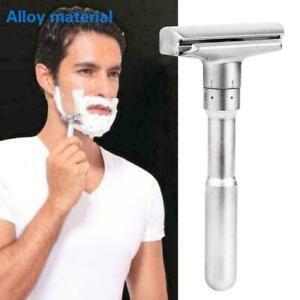 Adjustable-Safety-Razor-amp-Base-For-Man-Shaving-Razor-Safety-Classic-Razor-Q7R0