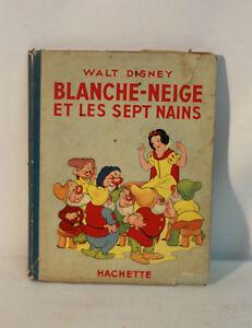 Details Sur Livre Blanche Neige Et Les 7 Nains De1938