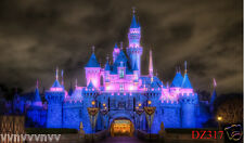 Vinyl castle Disney Backdrop CP Photography Prop Photo Background 7X5FT DZ317