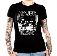 Emily The Strange Major Threat (minor Threat Spoof) Unisex T-shirt S/xxxl
