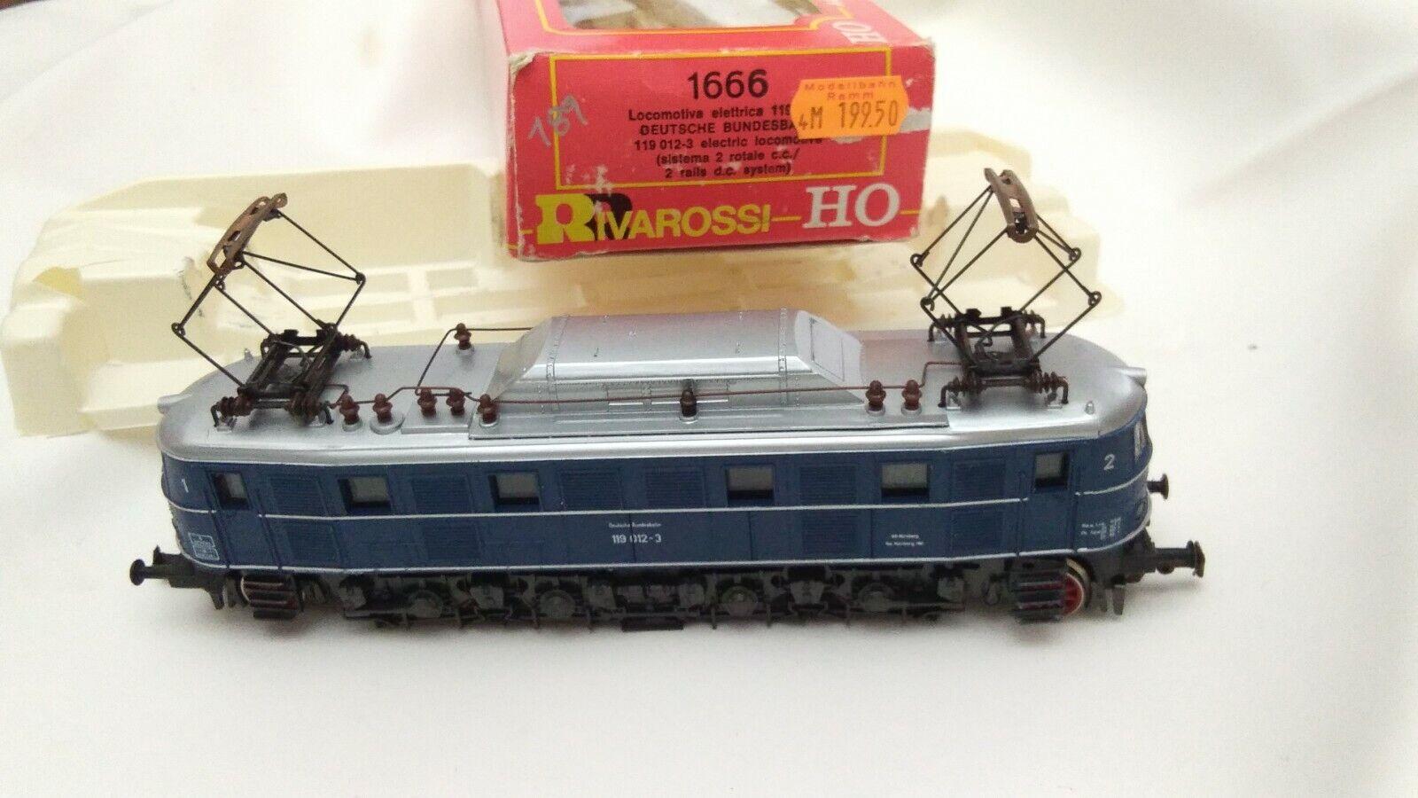 RIVAROSSI Locomotore Elettrico della DB 1666 119 0123 HO