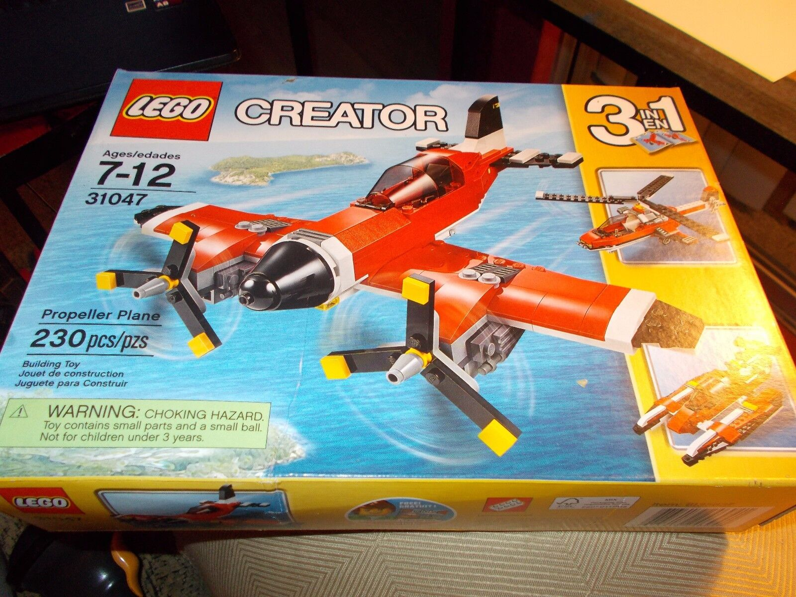 LEGO Creator Propeller Plane (31047) BRAND NEW IN BOX