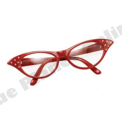 1950S 50S PINK LADY ROCK N ROLL SUNGLASSES GLASSES GREASE FANCY DRESS COSTUME