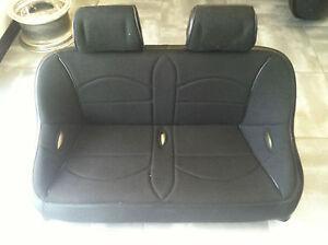 Brilliant Details About Yamaha Rhino Utv Rear Bench Seat Blk Tweed W Head Rest 42 Wide Easy Cleaning Ibusinesslaw Wood Chair Design Ideas Ibusinesslaworg
