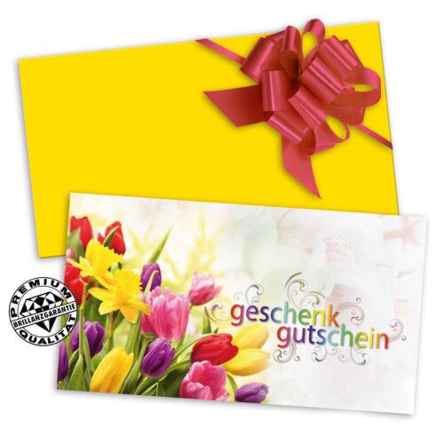 """Blumen BL1235 Gutscheinkarten /""""Standard/"""" für alle Branchen und Anlässe"""