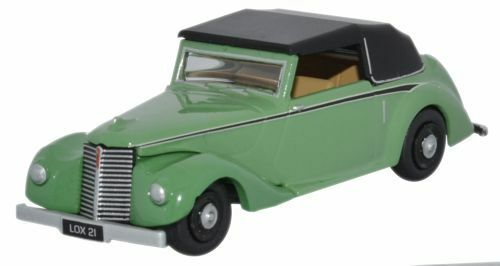 Oxford 76ASH002 00 PKW Armstrong Siddeley Hurricane closed green