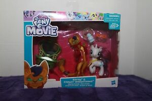 CF223 My Little Pony The Movie Rarity and Capper Dapperpaws Styling Friends